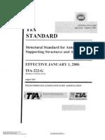 ANSI TIA EIA-222-G