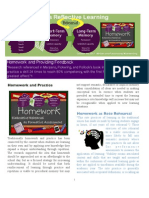 Homework as Reflective Learning