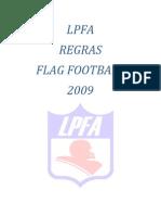 Regras Flag Football 2009 - LPFA
