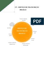 SERVIÇO DE TRANSCRICAO DE BRAILLE