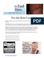 Pro-Life Boot Camp