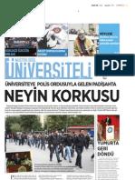 Üniversiteli Gazetesi Ekim 2011