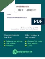 amiodarona intravenosa