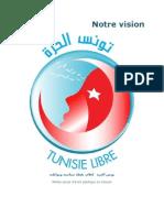 Notre Vision Tunisie Libre
