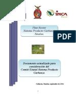 Plan Rector Actualizado (Garbanzo 2011)