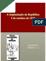 RESUMOS REPUBLICA - versão pdf