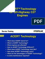 ACERT C27