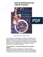 Consciente de alimentación por Gabriel Cousens - 5 estrellas reseña del libro