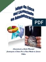 CODIGO DE ETICA DEL LICENCIADO EN ADMINISTRACIÓN