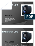 BASICS of UPS - Seminar Presentation