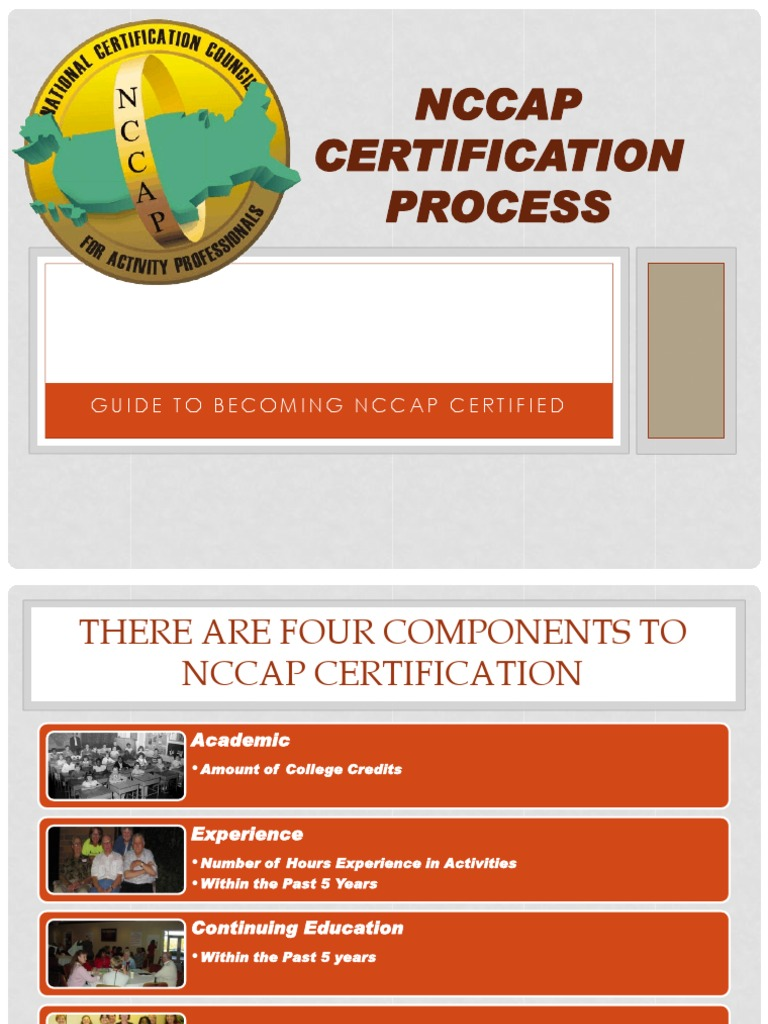 Nccap certification process continuing education professional nccap certification process continuing education professional certification xflitez Gallery