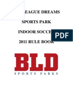 2011 Soccer Rule Book