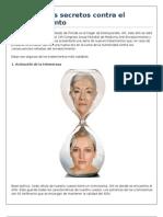 Seis Grandes Secretos Contra El Envejecimiento