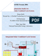 Integrated Solar Combined Cycle Systems