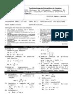 Calculo I Substitutiva 2005 Dep