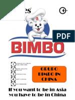 Bimbo - Marketing in China