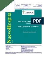 51-Asociación española contra el cáncer-Junta Provincial Zamora-Memoria 2002