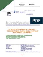 81-Sº Admisión,Archivo y Documentación clínica