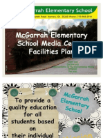 McGarrah Elementary School Media Center Facilities Plan Revised