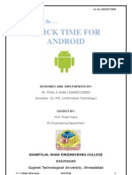 Seminar Report on Android