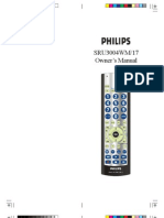 Philips SRU3004WM Manual