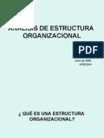 Análisis de Estructura Organizacional