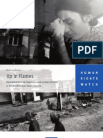 Up in Flames - Humanitarian Law Violations and Civilian Victims in the Conflict Over South Ossetia (2009)