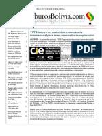Hidrocarburos Bolivia Informe Semanal Del 10 Al 16 Octubre 2011