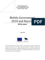 Mobile Government 2010 and Beyond v100