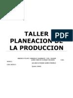 PLANEACION PRODUCCION