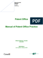 Manual of Patent Office Practice