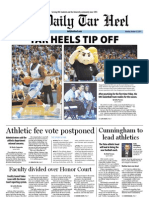 The Daily Tar Heel for October 17, 2011