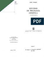Jean Piaget - Estudios de Psicologia Genetica