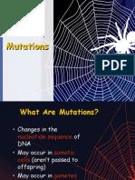 Mutations Power Point