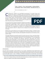 A Case Study of Karakoram Area Development Organization (KADO)