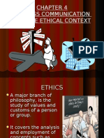 Business Communication and Ethical Context