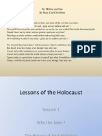 Why the Jews' Power Point Class 1 Final