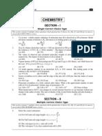 IIT Part Test - 1 Paper I_Test Paper