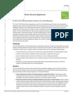 Cisco SA500 Datasheet