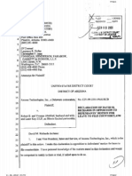 Axxess sues Robert Almblad David Richards declaration & exhibits