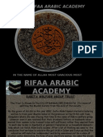 ARABIC ACADEMY PROJECT