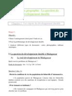 Les enjeux du développement durable
