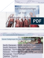 external relations of the mangyan lang_kat