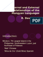 int and ext relations of the mangyan lang