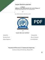 Major Training Report(2)Shaival