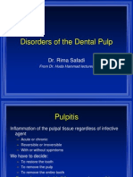 lecture 5, Disorders of the Dental Pulp (slide)
