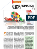 Scratch pour la Creation d'Animations