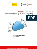 Guide for companies on cloud computing