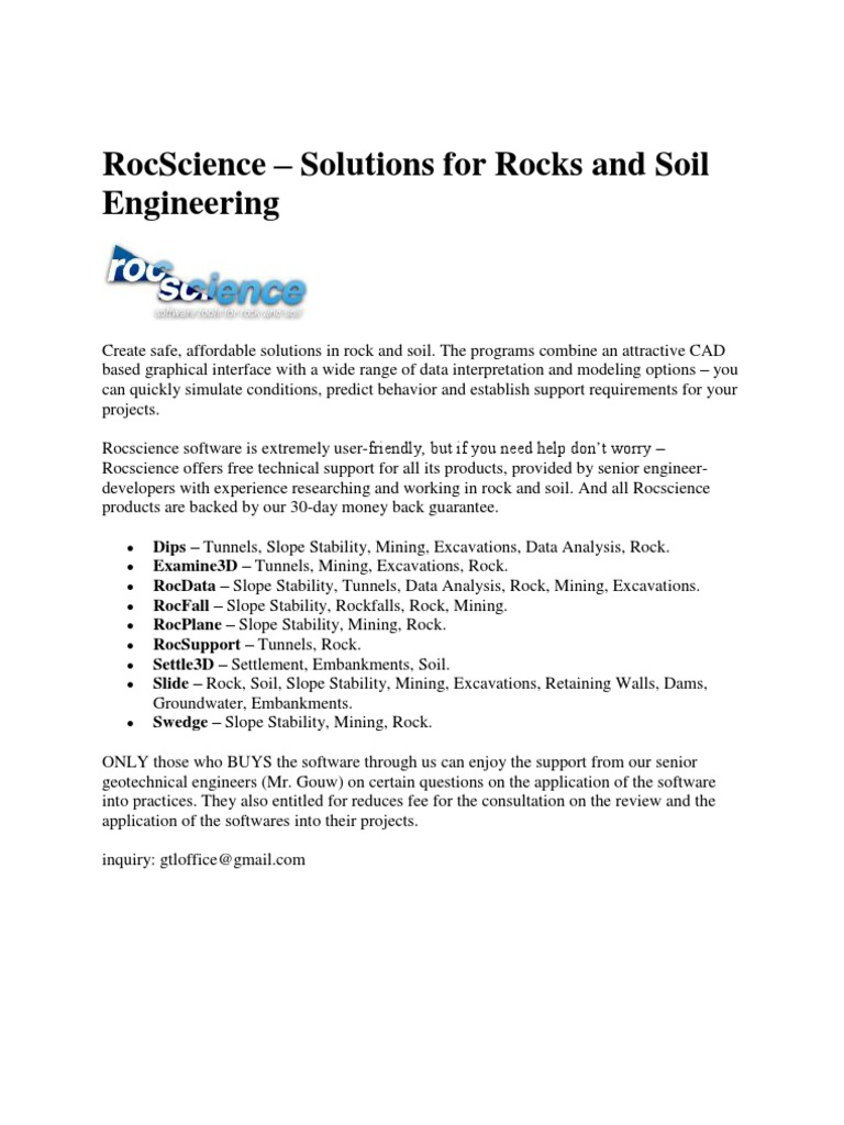 RocScience Software
