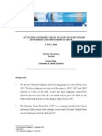 Attacking Offshore Trusts in Light of in Re Esteem Settlement and ...[1]